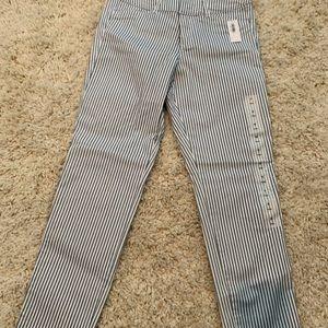 Old Navy pinstripe pants